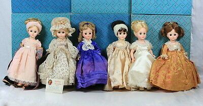 NEW NIB LOT 6 MADAME ALEXANDER FIRST LADY DOLL COLLECTION US Ladies SERIES 1 I