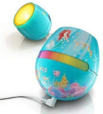 Philips Disney Ariel - Micro LivingColors LED Colour Changing Childrens Bedside