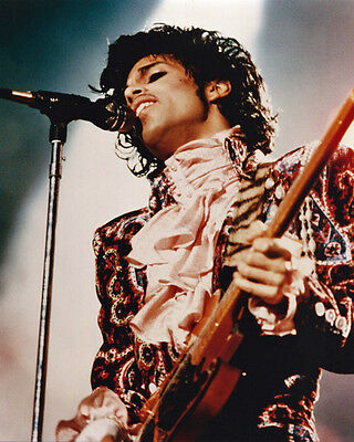 American R&B Singer PRINCE Glossy 8x10 Photo Music Songwriter Print Poster