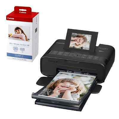 Canon SELPHY CP1200 Wireless Photo Printer + KP-108IN Color Ink And Paper