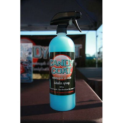 Candy Coat 32 oz. Bottle of Motorcycle and Auto Detailer Spray