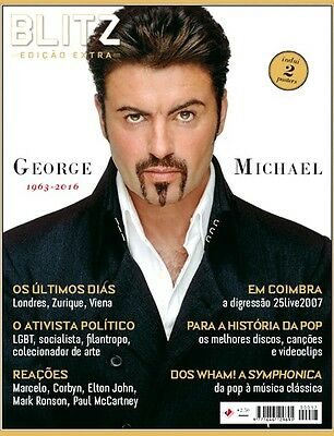 George Michael Special Tribute Collector's Edition Blitz Magazine  December 2016
