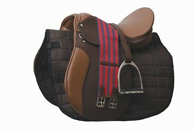 Academy All Purpose Complete Saddle Kit Black- NEW All Sizes