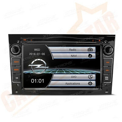 GPS Sat Nav Car Radio DVD Player Stereo for Vauxhall Opel Astra H/Vectra/Corsa