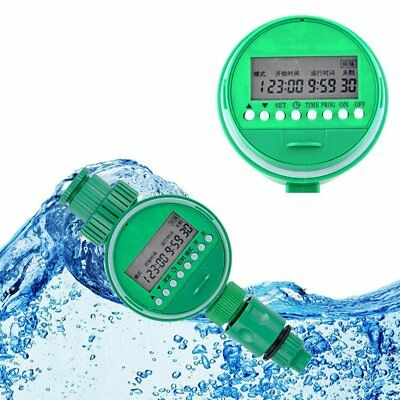 Automatic Electronic Water Timer Garden Irrigation Controller Digital Watering X