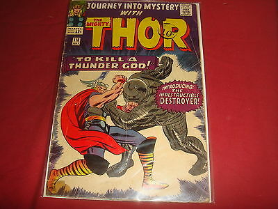 JOURNEY INTO MYSTERY #118  Mighty Thor Silver Age Marvel Comics 1965 VG-