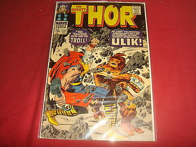 THE MIGHTY THOR #137  Jack Kirby Silver Age Marvel Comics 1967 VG