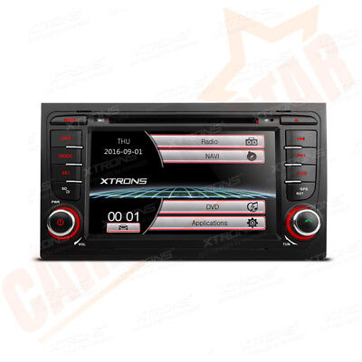 """7"""" Touch Screen Car Head Unit DVD Player Stereo GPS Sat Nav Radio for Audi A3 S3"""