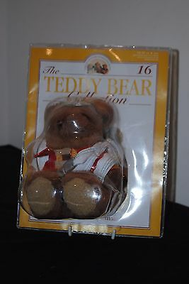 The Teddy Bear Collection - Number 16 Freddy The Fireman