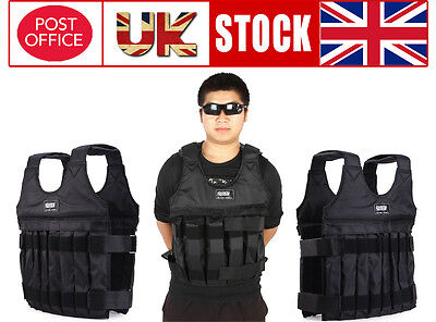 Fitness 10KG Weighted Vest Adjustable Exercise Jacket