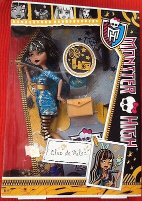 Monster High, Cleo De Nile ,Colección Picture Day