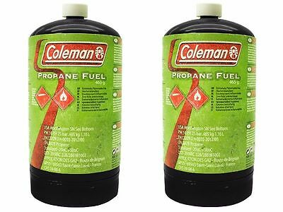 Coleman Propane Fuel M1003, 456G Gas Cylinder Non Refillable Twin Pack