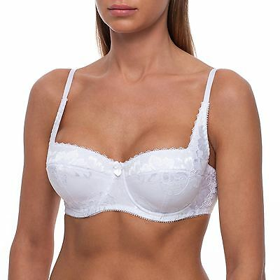 Bra by FV Demi Balconette Underwire Padded Balcony SECRET OF GODDESS VICTORIA