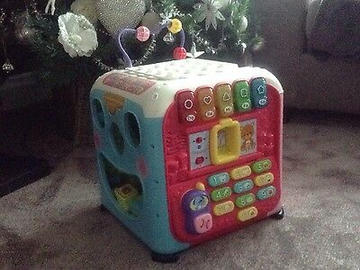 Vtech Baby Discovery/activity/alphabet Cube Pink