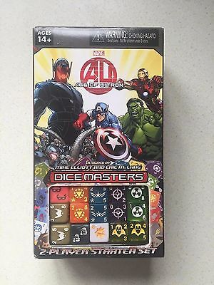 Marvel Dice Masters Avengers Age Of Ultron Starter Set Game - FREE P&P