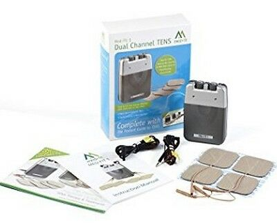 Med-Fit 1 Dual Channel Tens Machine-Fast Effective Pain Relief - Ideal For All T