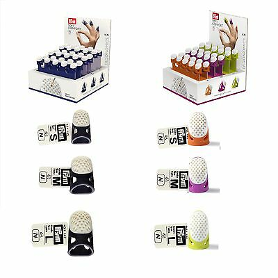 Prym Ergonomic Soft Comfort Thimble Choice of - Small - Medium - Large & Colour