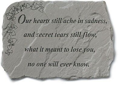 Kay Berry Our Hearts Still Ache Memorial Stone 91820