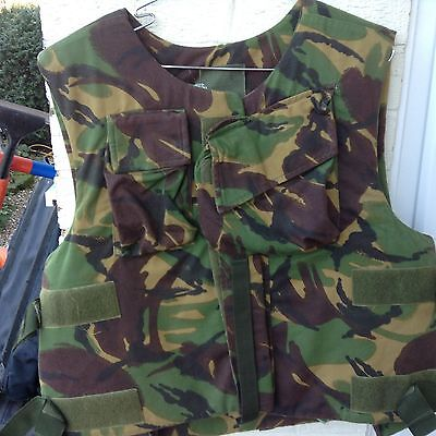 COMBAT BODY ARMOUR LW Mk1 TEMPERATE DPMBRITISH ARMY ISSUE 190/120