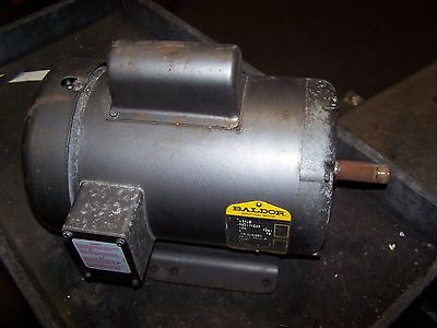 Baldor 2 Hp Ac Electric Motor 184 Frame 115/208-230 Vac 1 Phase 1725 Rpm L3605