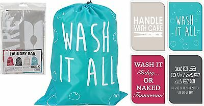 Drawstring Laundry Bag for Holiday Students School Dirty Washing Bag Storage Bag