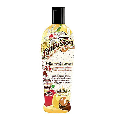 Synergy Tan Butter Me Extra Dark Tanfusion Sunbed Tanning Lotion Cream 250Ml