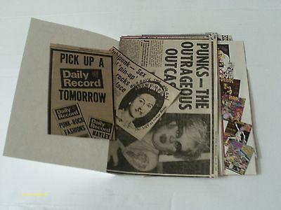 Sex Pistols Cuttings/clippings - 1977 - 2007