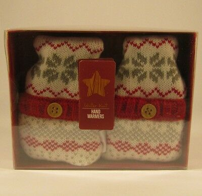 Argyll Knit Hand Warmers