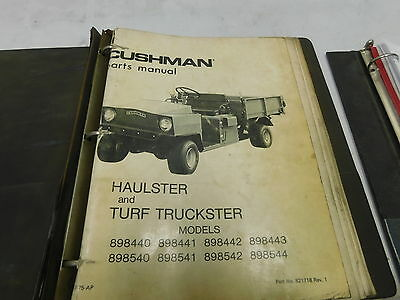 cushman haulster turf truckster 898xxx parts manual e13 2033 rh picclick com Cushman OMC Engine Points cushman truckster omc engine manual