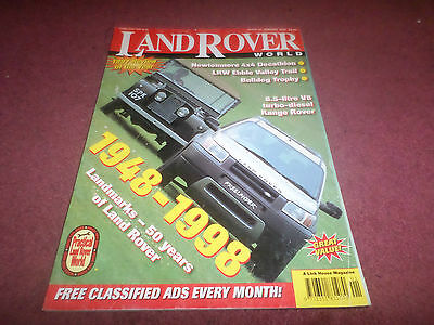 Old Land Rover World Magazine - 50 Years Of Landrover -Jan 1998