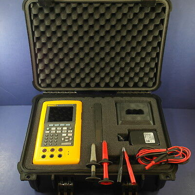 Fluke 744 Documenting Process Calibrator, Good Condition, Hard Case, Extras!