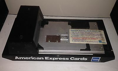 Vintage DataCard Addressograph AMEX Manual Credit Card Machine - Free PM Ship