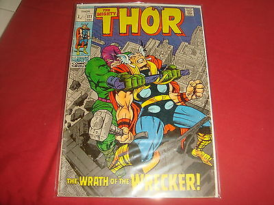 THE MIGHTY THOR #171  Jack Kirby Silver Age Marvel Comics 1969 G/VG