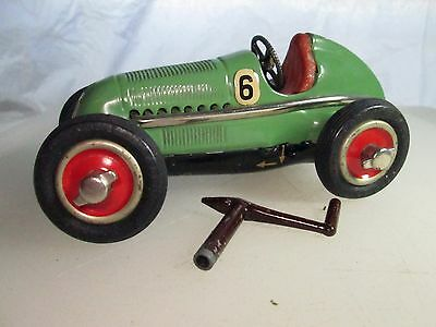 Schuco Studio 1050 GREEN key, works GREAT condition, US Zone Germany Wind up