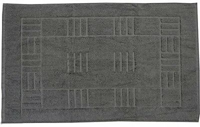 Just Contempo Egyptian Cotton Bath Mat, Grey
