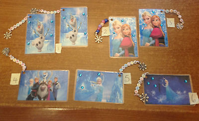 Frozen Bookmarks with Beads & Charms - Can personalize Contact me