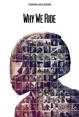 Why We Ride DVD Documentary - Motorcycle Riding Movie Video NEW