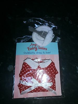 Angelina Ballerina, Angelina's Fairy Tales, Goldilocks Outfit With Bowl, Unused