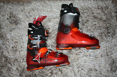Atomic Hawx Magna 110 Ski Boots 27/27.5 / 28/28.5 Transparent Red