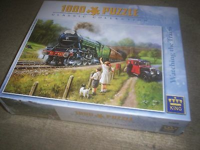 Train puzzle 1000 pièces Classic collection Neuf