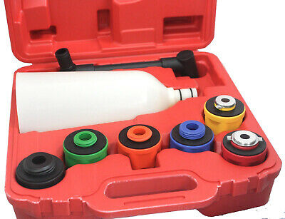 Fast Oil Funnel Filling Kit & 6 Adapters NO Spillage No Mess 4 Domestic Import