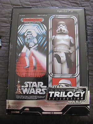 "Star Wars Trilogy Collection 12"" Stormtrooper Nip 2004"