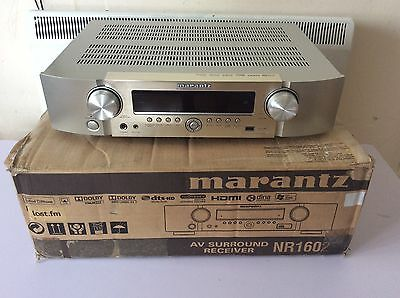 Marantz NR1602 7.1 AV Surround Receiver Silver Genuine New