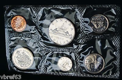 1968 Canada Prooflike PL set - 6 perfect coins - org. packaging and certificate