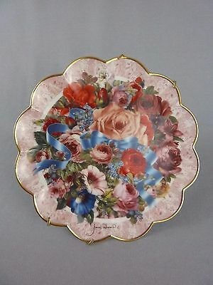 Collector Plate / Bouquet of Spring / Judith Winslow / Franklin Mint / Flowers