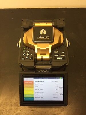 Inno View 7 Fiber Optic Arc Fusion Splicer with USA Warranty and Inno Cleaver