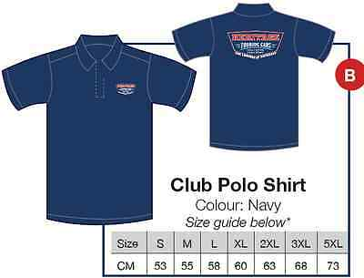 Heritage Touring Cars Mens Polo Shirt size XL - Official Merchanise