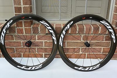 Zipp 404 Firecrest 11 Speed Wheel Set 700c Clincher