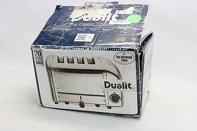 Cadco Commercial Toaster 4 Slice Dualit Toaster 208 Volt CTS-4(208)