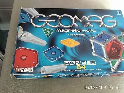 Geomag Magnetic World 84 pieces
